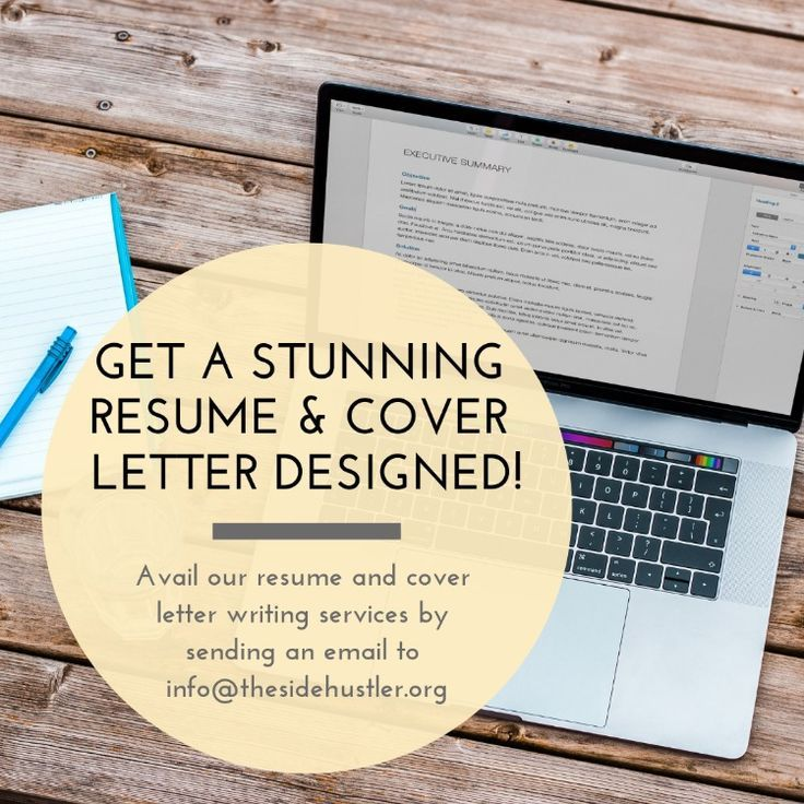 An attractive resume makes the difference between