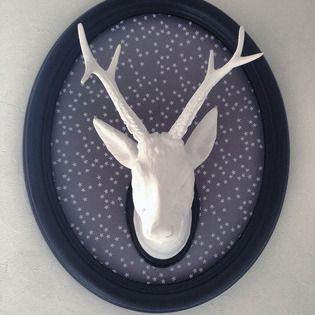 Trophée tête de cerf décoration murale (photo 1)
