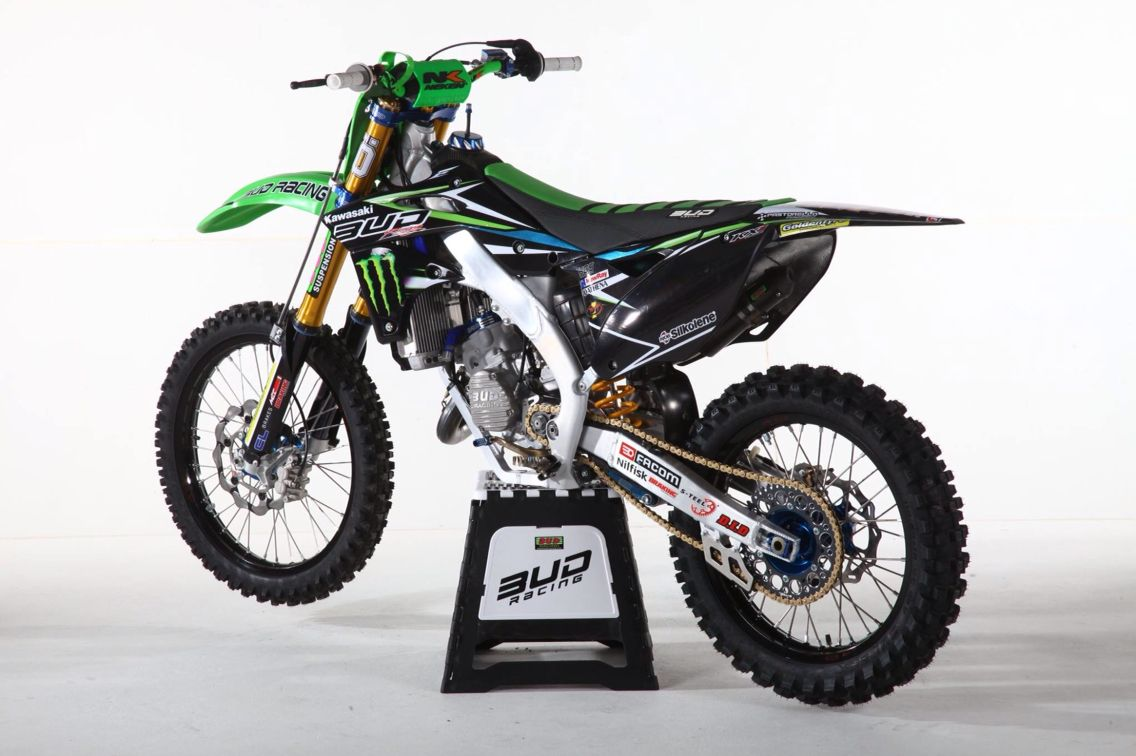 125 kx Bud Racing   125 cc   Dirtbikes, Motorcycle, Dirt bikes