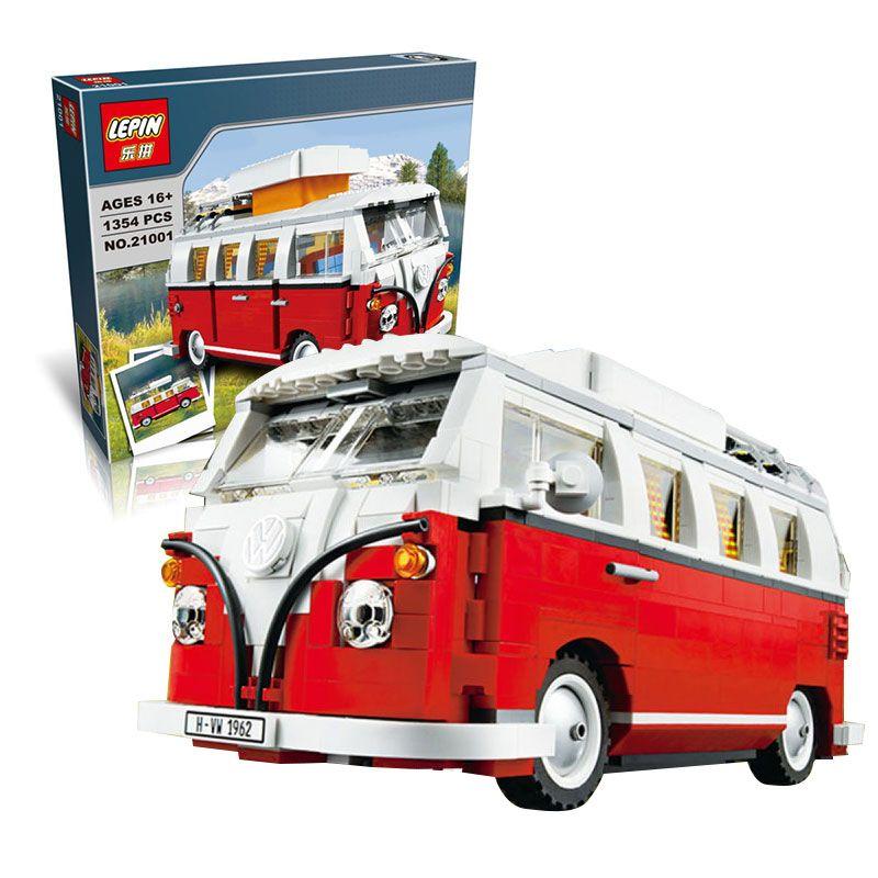 $37.90 (Buy here: https://alitems.com/g/1e8d114494ebda23ff8b16525dc3e8/?i=5&ulp=https%3A%2F%2Fwww.aliexpress.com%2Fitem%2FNew-LEPIN-21001-1354Pcs-Creator-Volkswagen-T1-Camper-Van-Model-Building-Kits-Minifigure-Bricks-Toys-Compatible%2F32729426849.html ) 2016 New LEPIN 21001 1354Pcs Creator Volkswagen T1 Camper Van Model Building Kits Minigifure Bricks Toys Compatible LEGOe 10220 for just $37.90