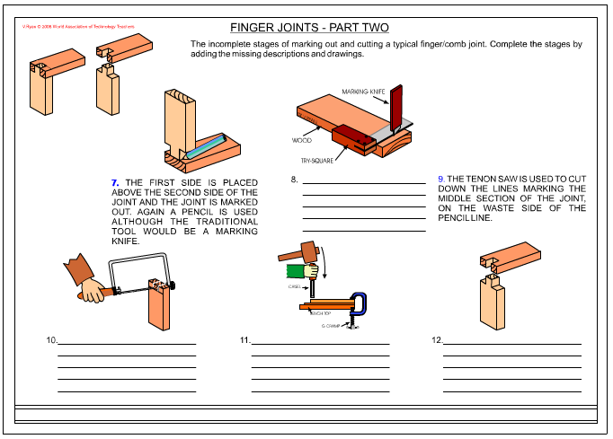 Marking Out a Finger Joint (Part 2)
