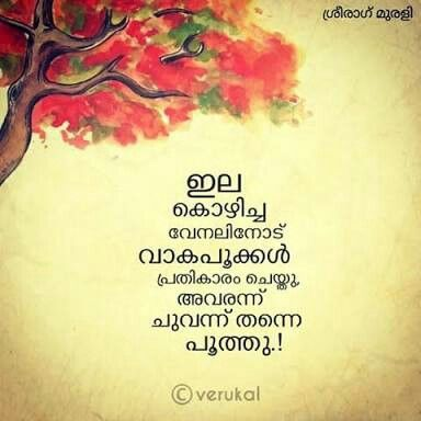 ചുവപ്പ്‌ Pranayam Pinterest Malayalam Quotes Quotes Custom Sad Dp Malayalam