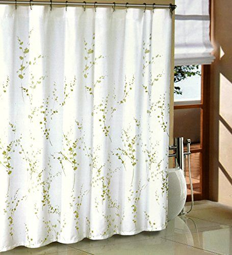 Tahari Sprigs Fabric Shower Curtain Olive Green Visit The Image Link More Details