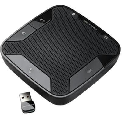 Plantronics Calisto P620-M – speaker phone (86701-01) –  Plantronics Calisto P620-M – Speakerphone hands-free – wireless – Bluetooth 2.1 EDR. The no cord, no fuss UC speakerphone. The perfect tool for impromptu conference calls, the Plantronics Calisto 620 is a portable wireless UC speakerphone that instantly transforms your laptop or smartphone into a high-quality conferencing device. Small and lightweight, the Calisto 620 provides professional-sounding audio and wireless connectivi..