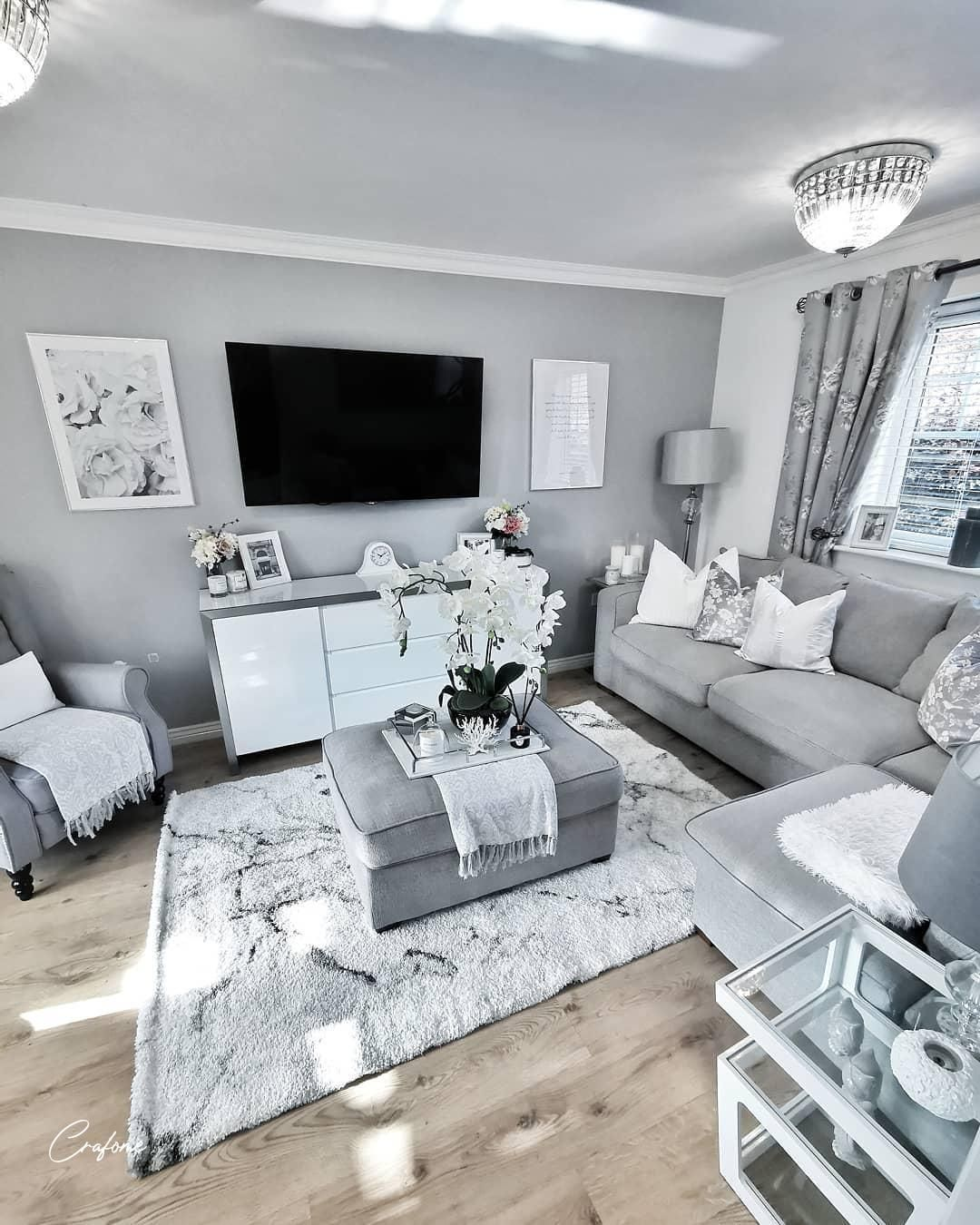 50 Grey Living Room Ideas You Must Look Crafome Gray Living Room Design Apartment Living Room Living Room Grey