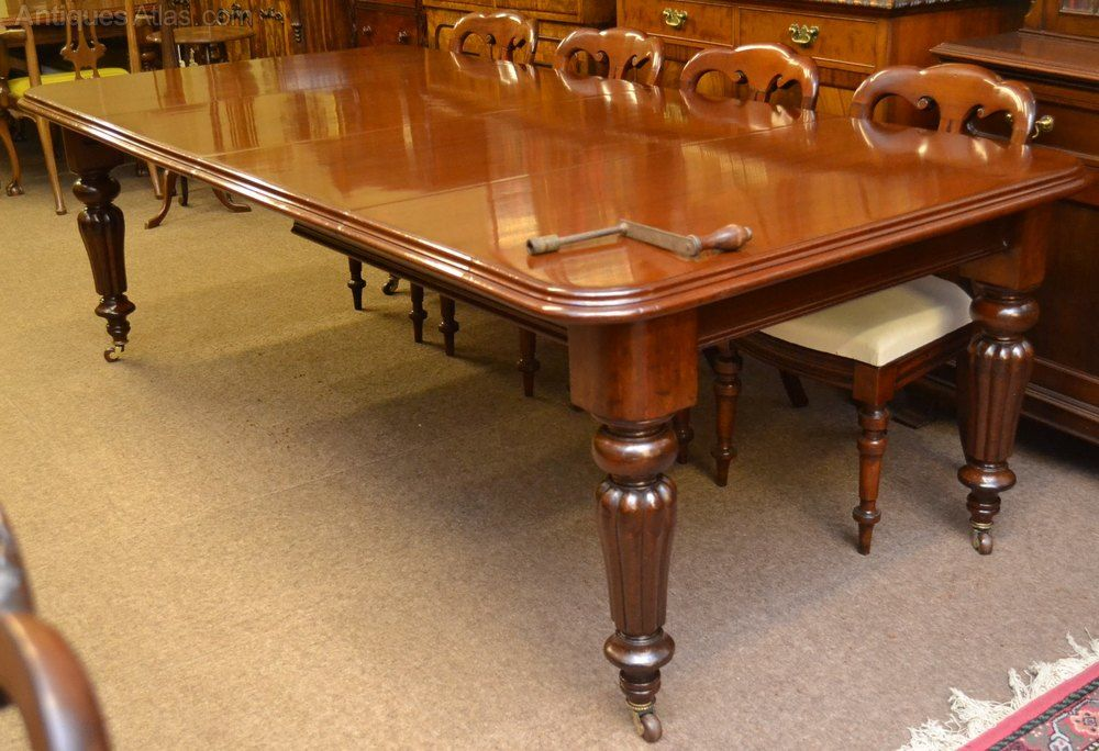 Victorian Mahogany Dining Table C1870 Antiques Atlas Mahogany