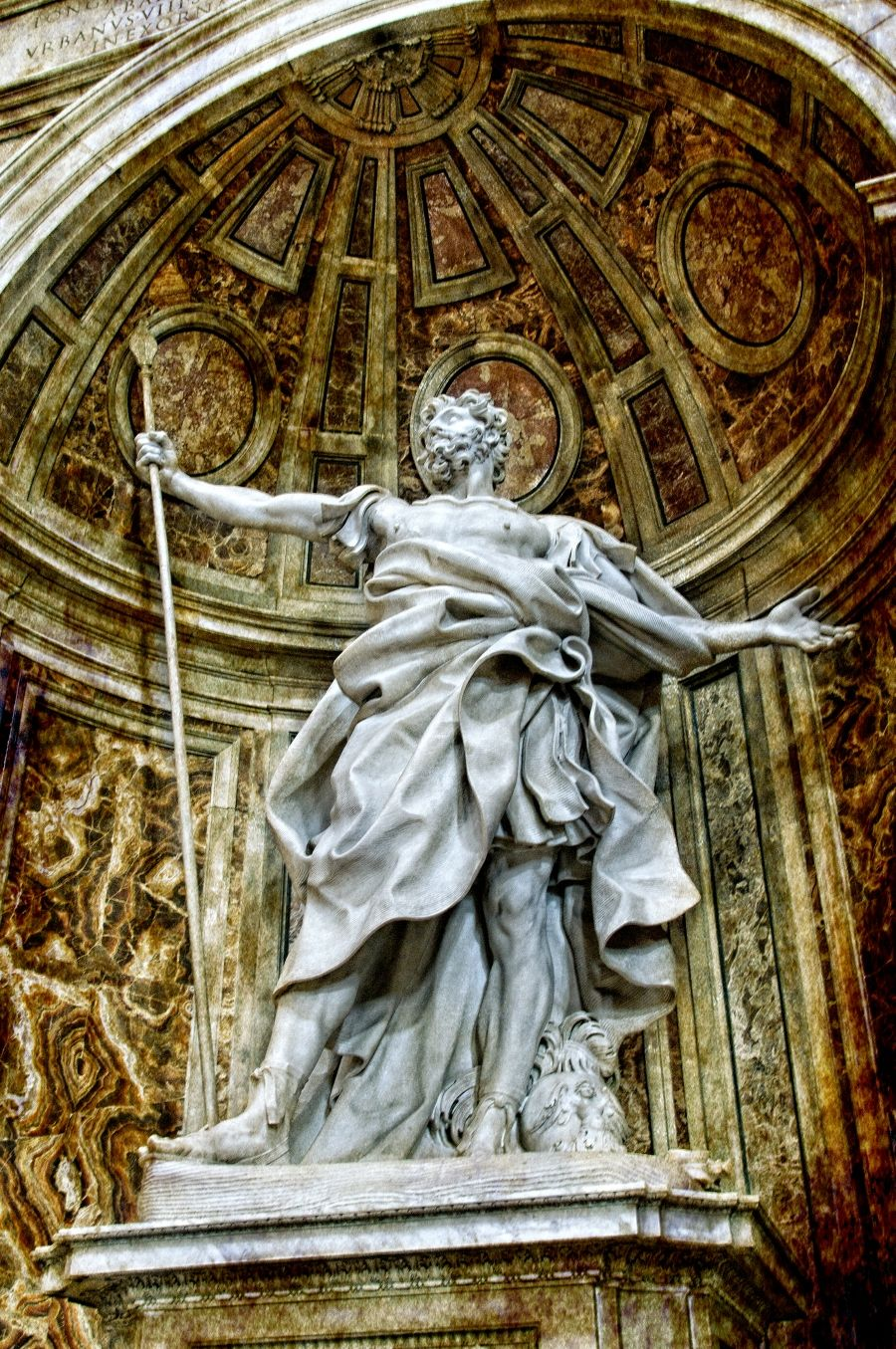St. Peter's Basilica, Vatican. Impressive square, and
