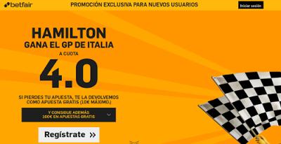 el forero jrvm y todos los bonos de deportes: betfair Hamilton gana cuota 4 GP F1 Italia 6 septi...
