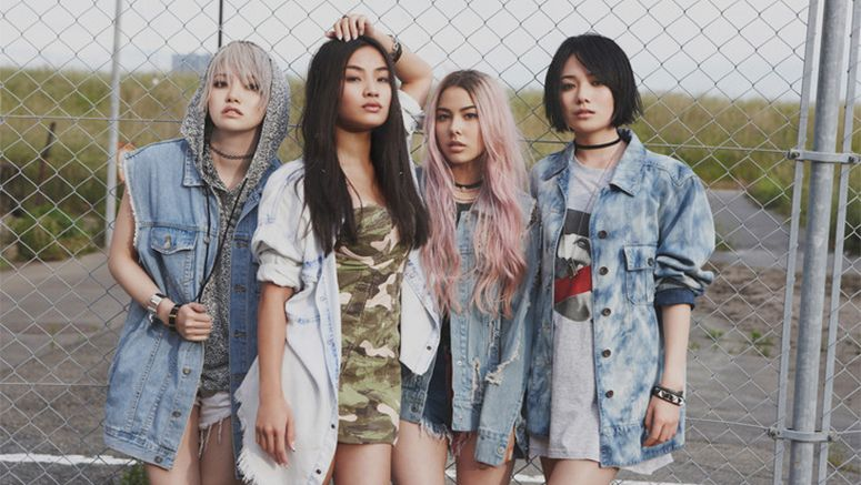 Girl group FAKY's PV for their new song