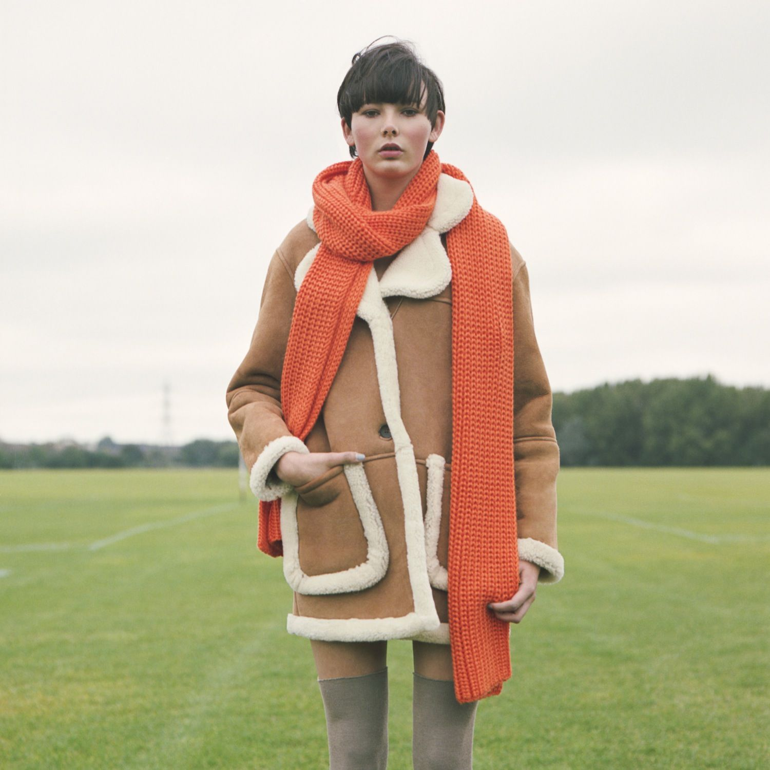 Romancing the coat - Play the field in softest shearlings.