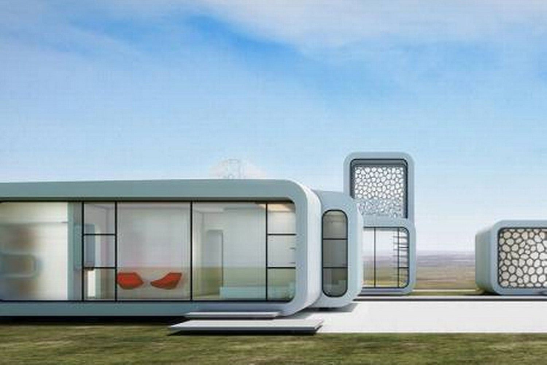 WinSun Leaps Ahead by 3D Printing Villa