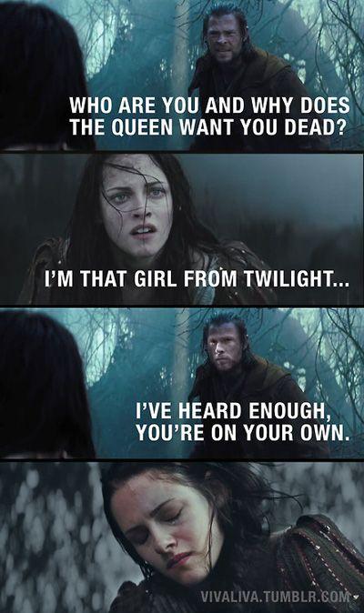 Funny Twilight Meme Snow White Twilight Funny Funny Movie Memes Funny Movies