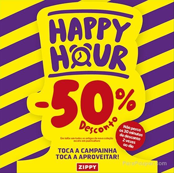 Zippy - Happy Hour com 50% de desconto! - http://goo.gl/uV0NwQ  Por: katinha Etiquetas: #ParaPoupar, #Crianças, #Promoção, #Zippy