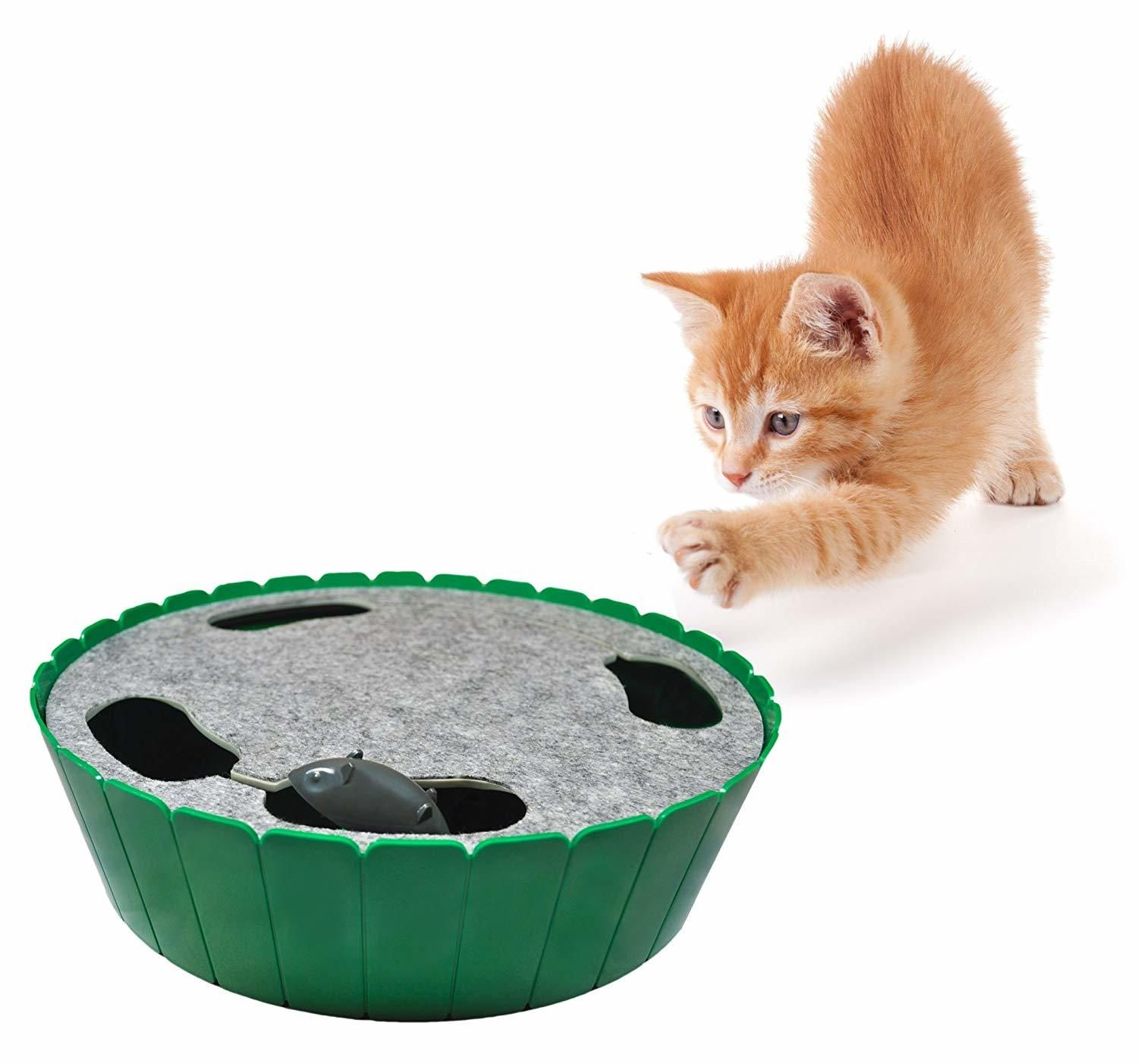 If You Make These Diy Cat Toys You Ll Make Yours The Happiest Kitty On The Planet Interactive Cat Toys Felt Cat Toys Cat Toys