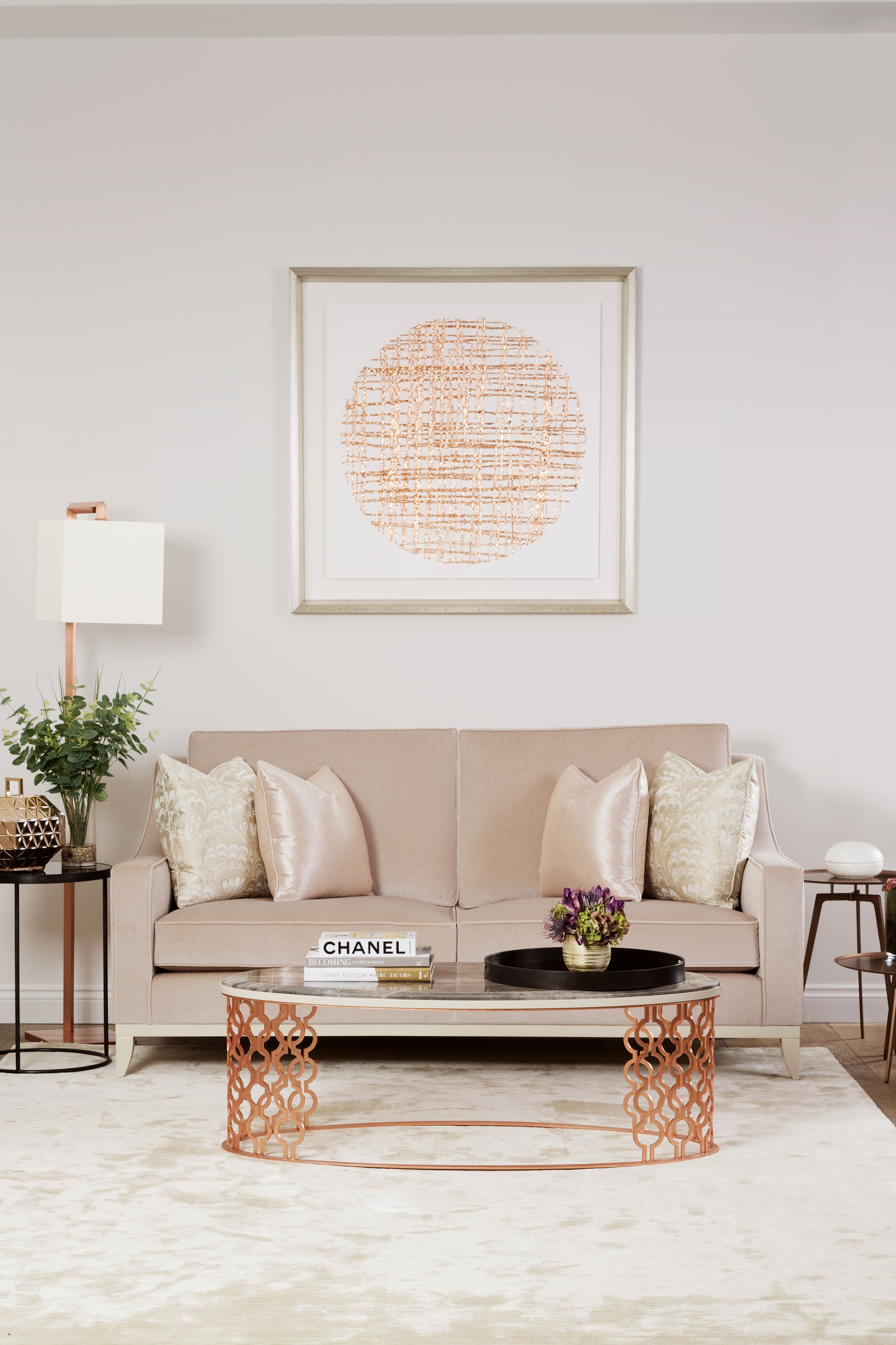 The Sofa U0026 Chair Company   Rose Gold Living