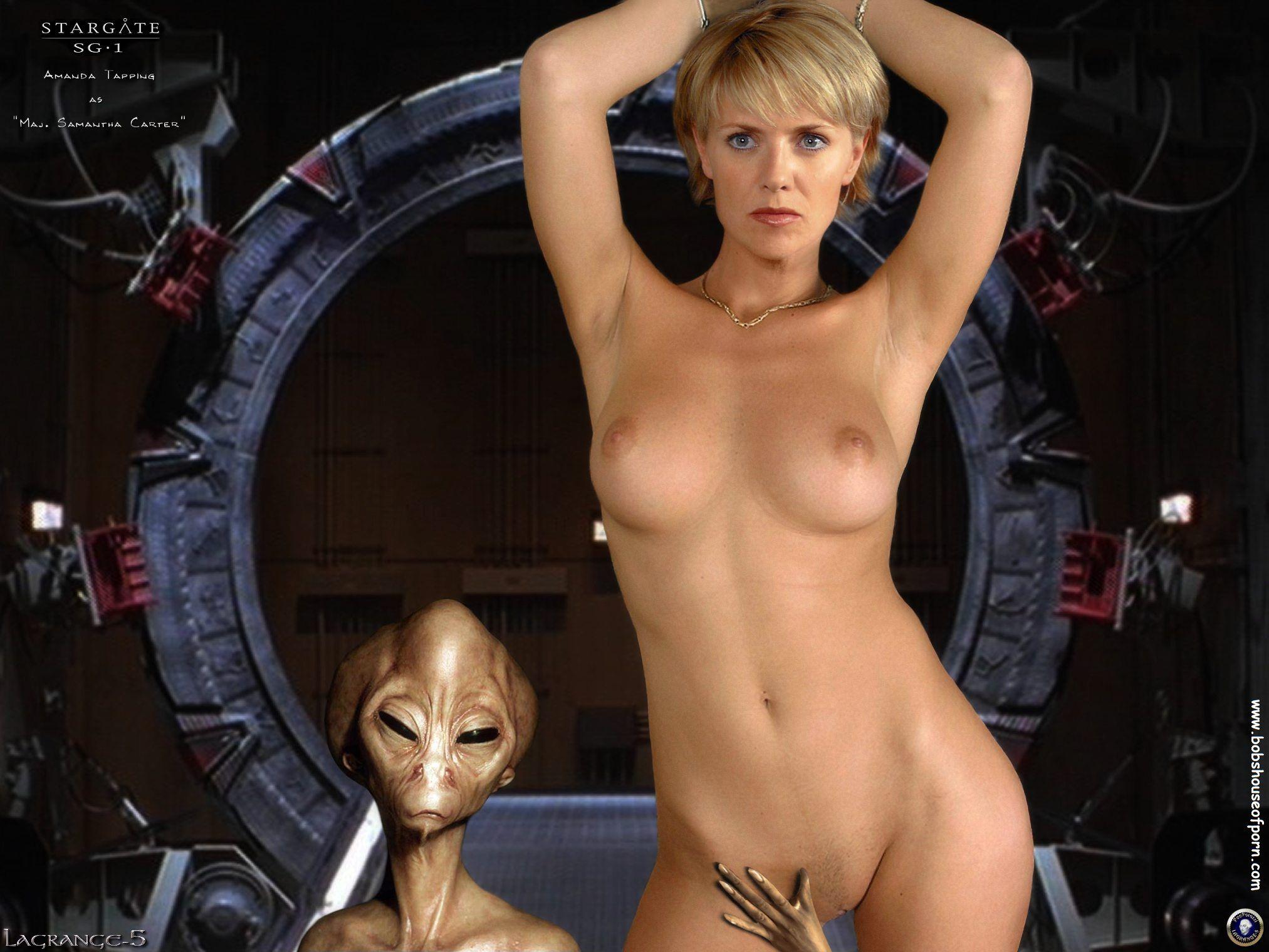 Samantha carter nude