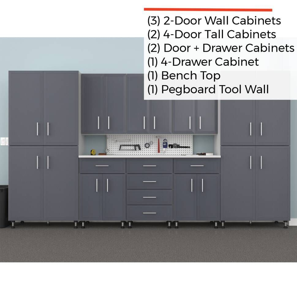 Edith 10 Piece Storage Cabinet Set Storage Cabinet Cabinet Storage