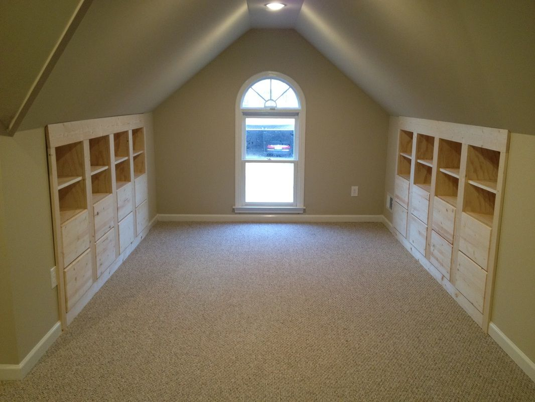 Woodworking Attic Remodel