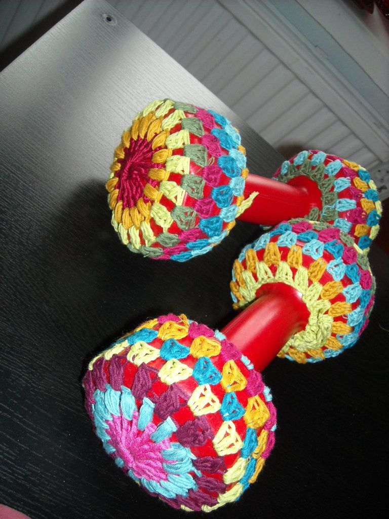My handweights - some might call them a bit girly..? ;)