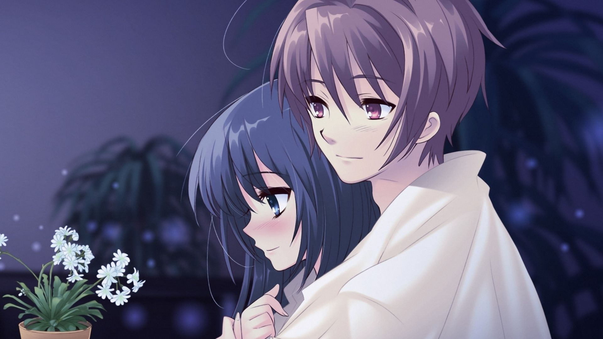 Beautiful Anime Couple Wallpaper HD Images One 1920x1200