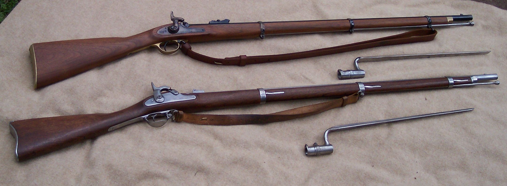 .577 Caliber Enfield Rifle Musket. - 214.9KB
