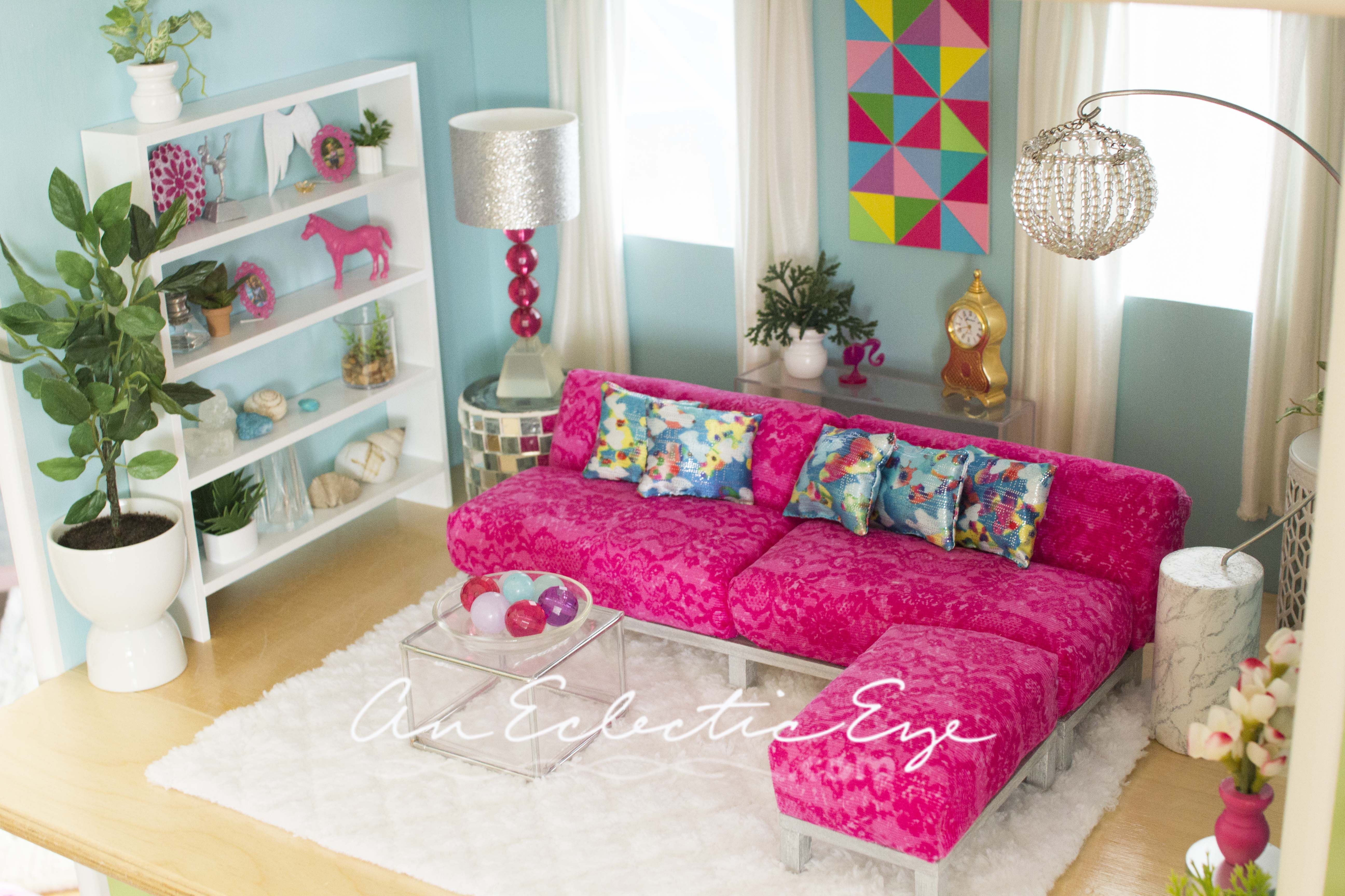 Genial 1:6 Scale Barbie Livingroom