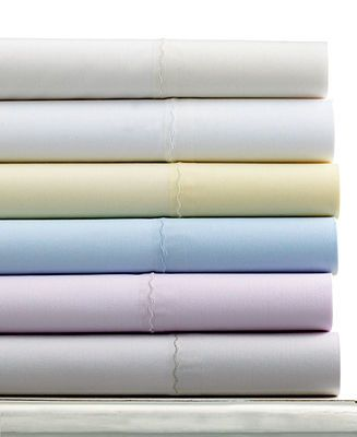Martha Stewart Collection 360 Thread Count Percale Sheet Sets