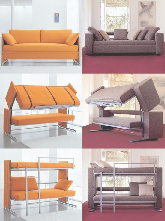 Loft Beds With Couch And Desk The Ultimate Bunk Bed Futon Couch