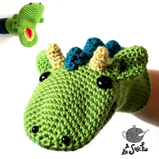 Dragon Puppet Pattern By A La Sascha Dragon Puppet Puppet And Ravelry