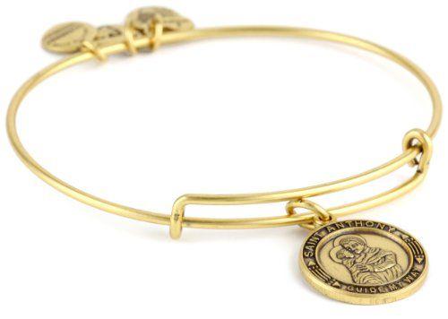 Alex And Ani Bangle Bar St Anthony Russian Gold Expandable Bracelet Http Www Dp B007umd9ls Ref Cm Sw R Pi 306 Sb0mx48eq593