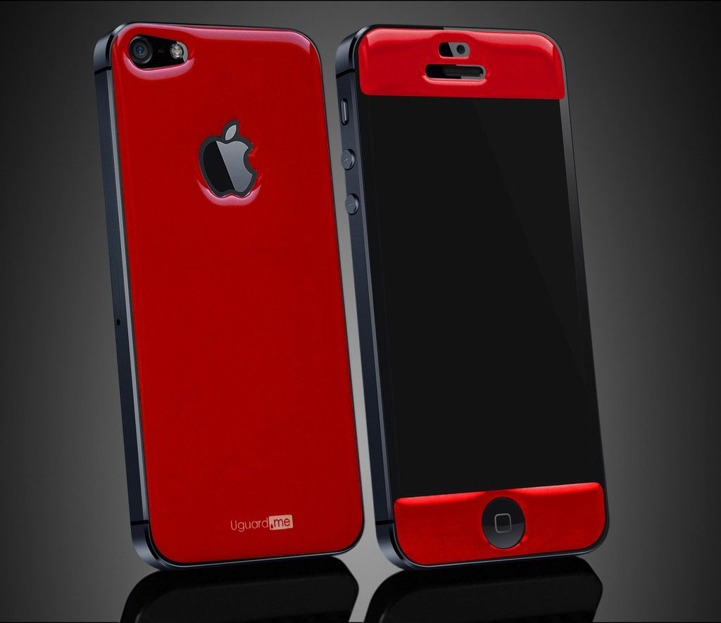 Basic Collection Of Smart 3d Skin For Iphone 5 And 5S Black Red Or