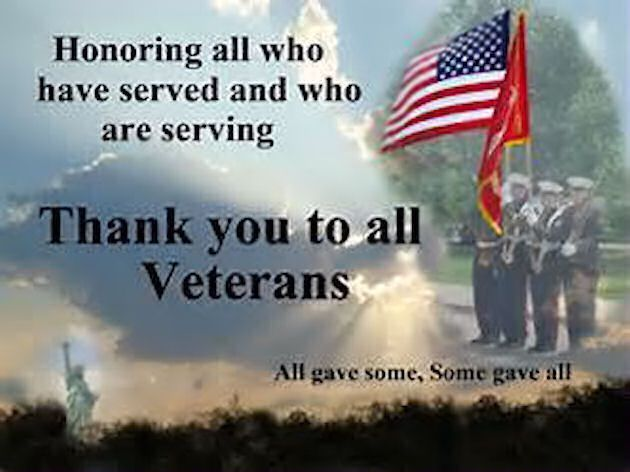 Thank You To All Veterans