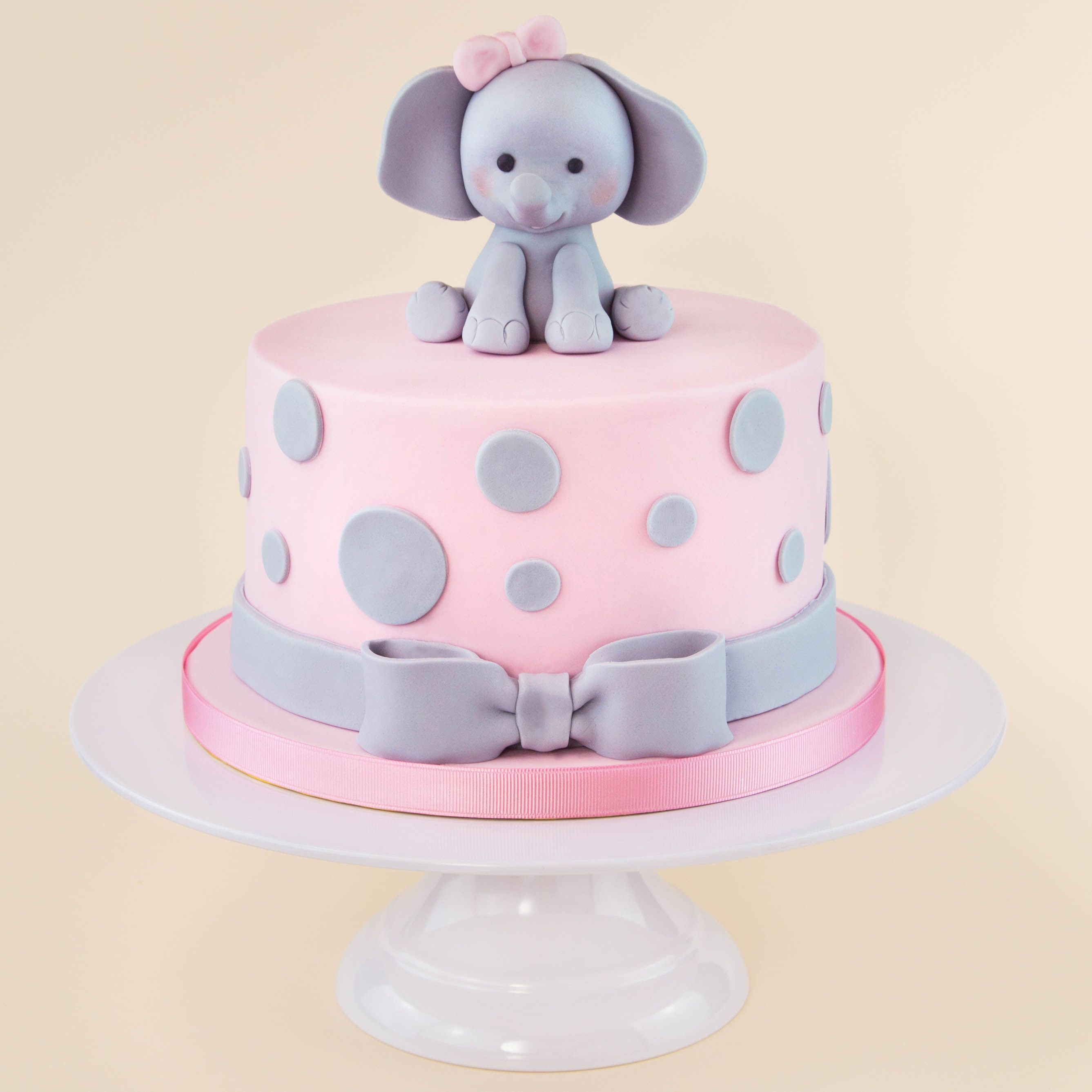 elephant birthday cake pink elephant cake baby showers tortilla y bautizo 3873