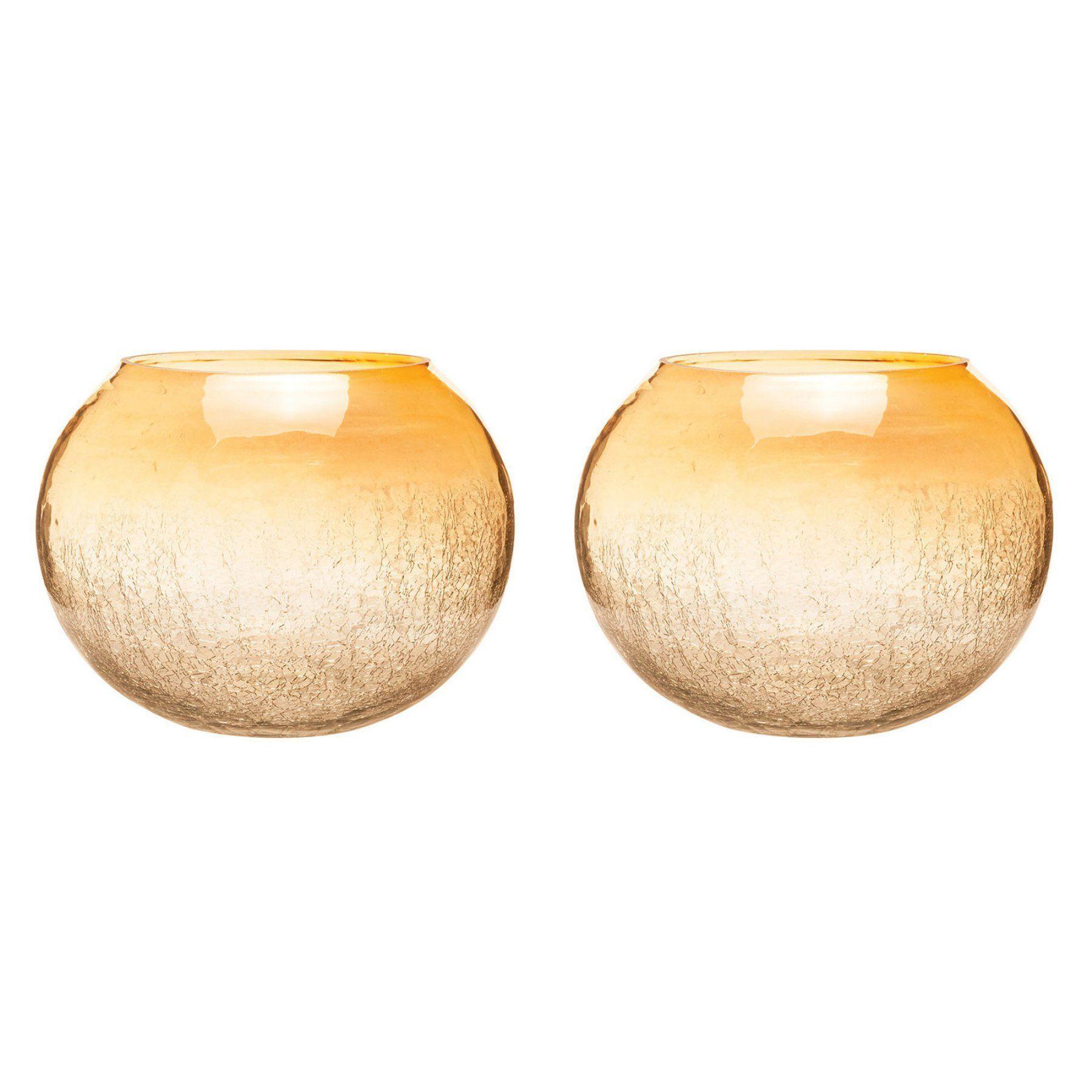 Elk lighting brandy round hurricane candle holder set of