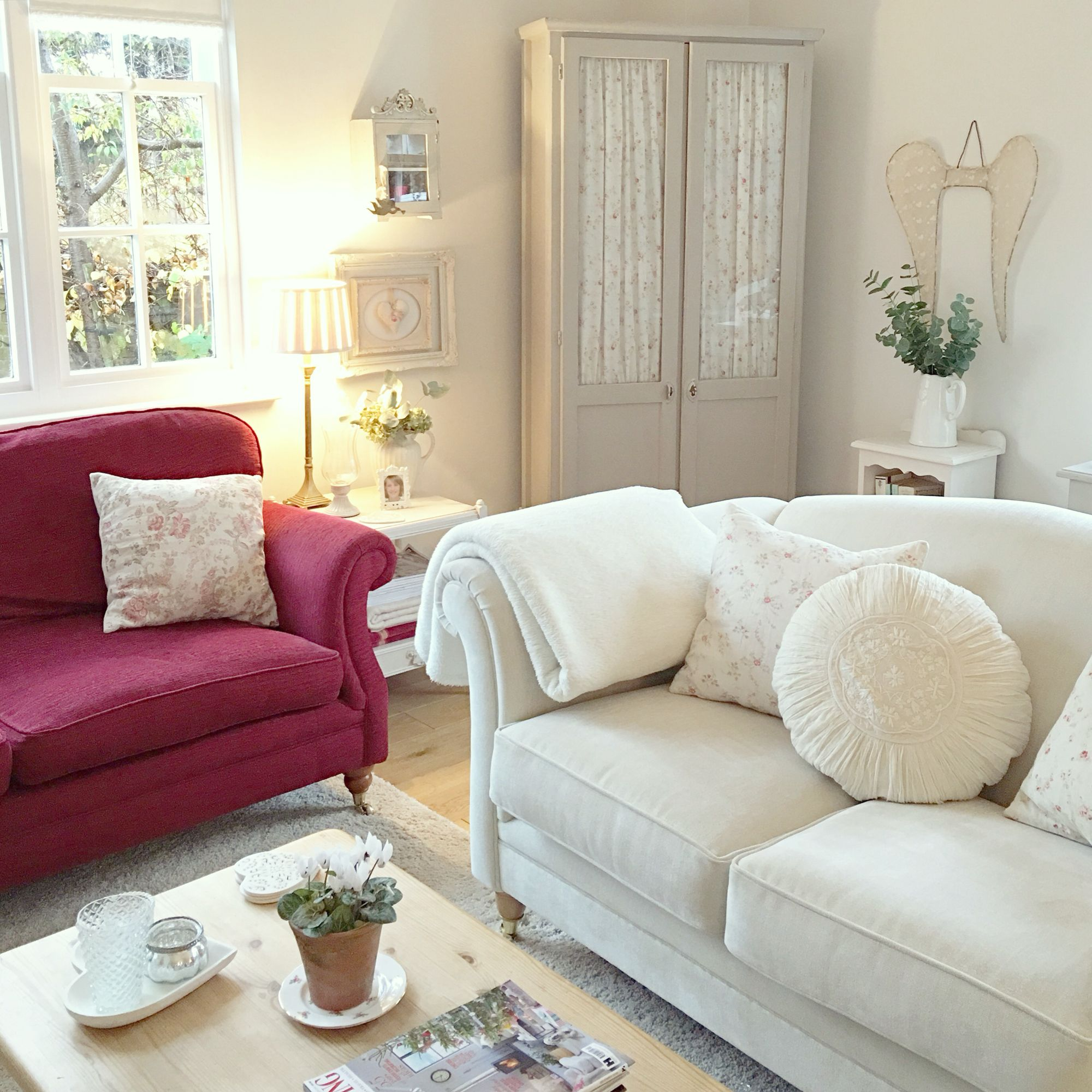 Living Room ~ The Old Vicarage | Shabby, Cottage, French, Country ...