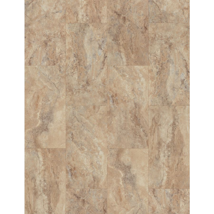 Smartcore ultra 8 piece 1197 in x 2362 in tivoli travertine shop smartcore ultra 8 piece 1197 in x 2362 in tivoli travertine locking luxury commercialresidential vinyl plank at lowes dailygadgetfo Image collections