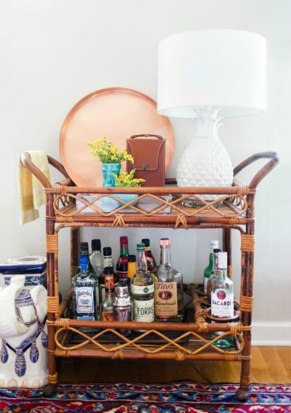 What To Do With Vintage Furniture Rattan Wicker