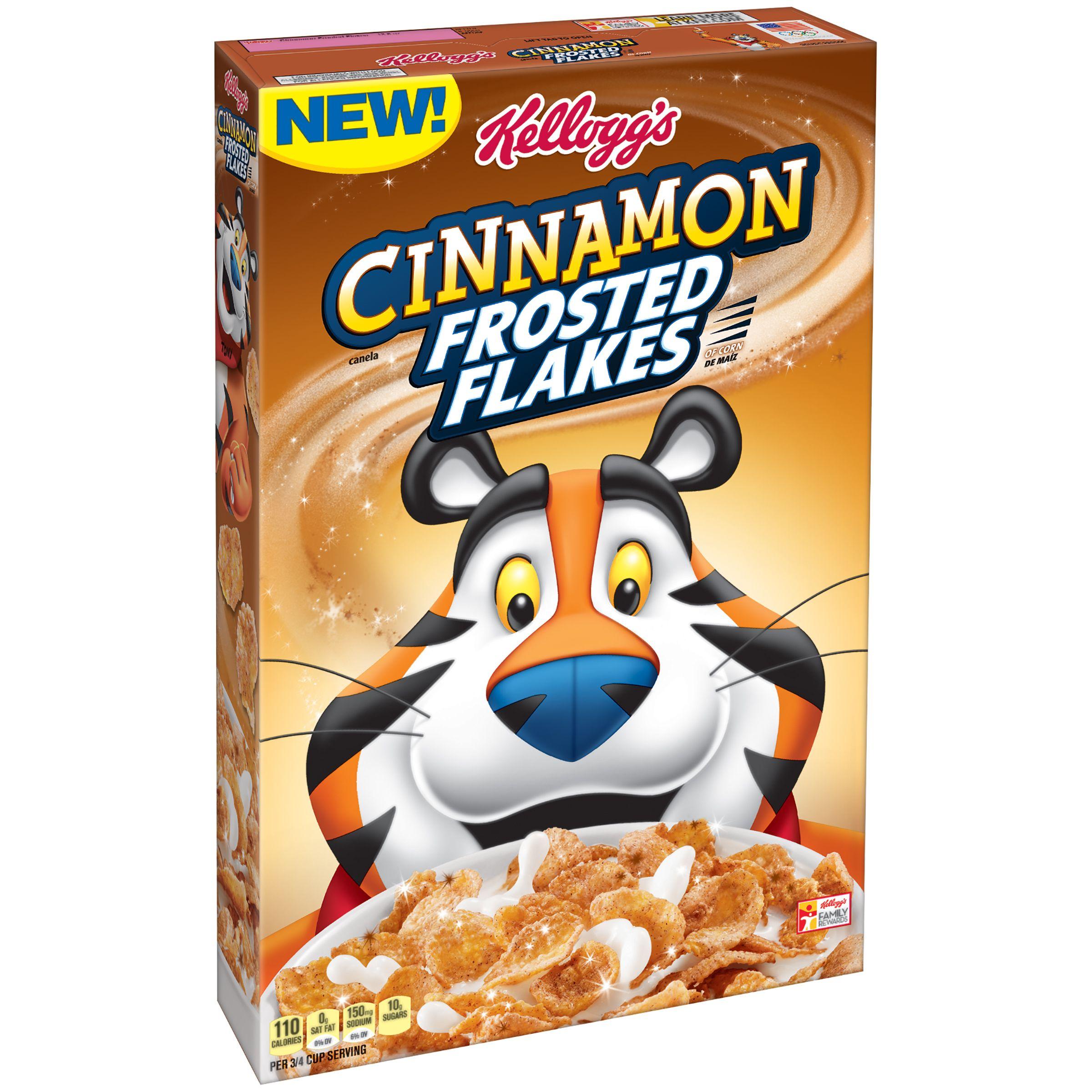 View Kellogg S Cinnamon Frosted Flakes Product Information Via Smartlabel Cinnamon Breakfast Cinnamon Frosted Flakes Cinnamon Cereal