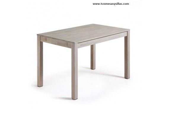 Oferta y precio mesa comedor extensible en madera de roble, barata ...