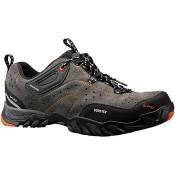 Shimano Mt60 Mtb Shoes Featuring A Weatherproof Gore Tex Inner