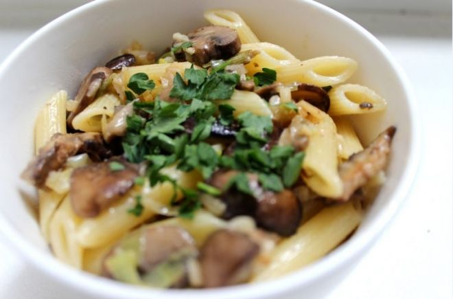 A Delicious Mushroom Pasta Recipe from Carol Han of Milk & Mode | Blog | The Fix