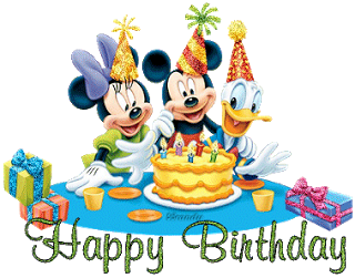 Disney Birthday Wish Greeting Cards