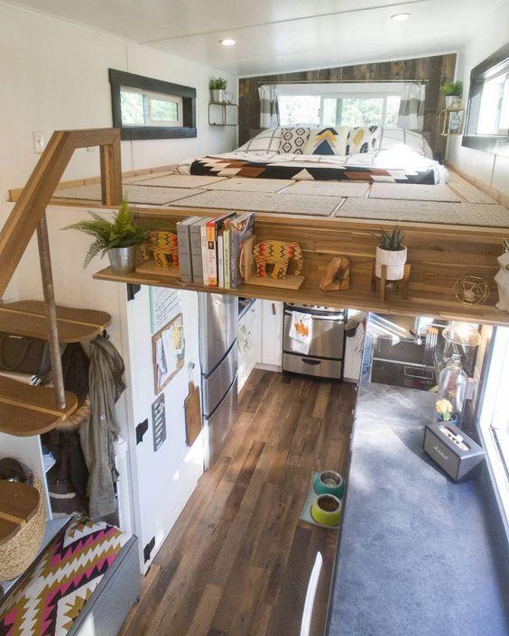 Küçük Bir Evde Yaşamayı Merak Edenlere 18 İç Mimari Harikası Küçük Ev