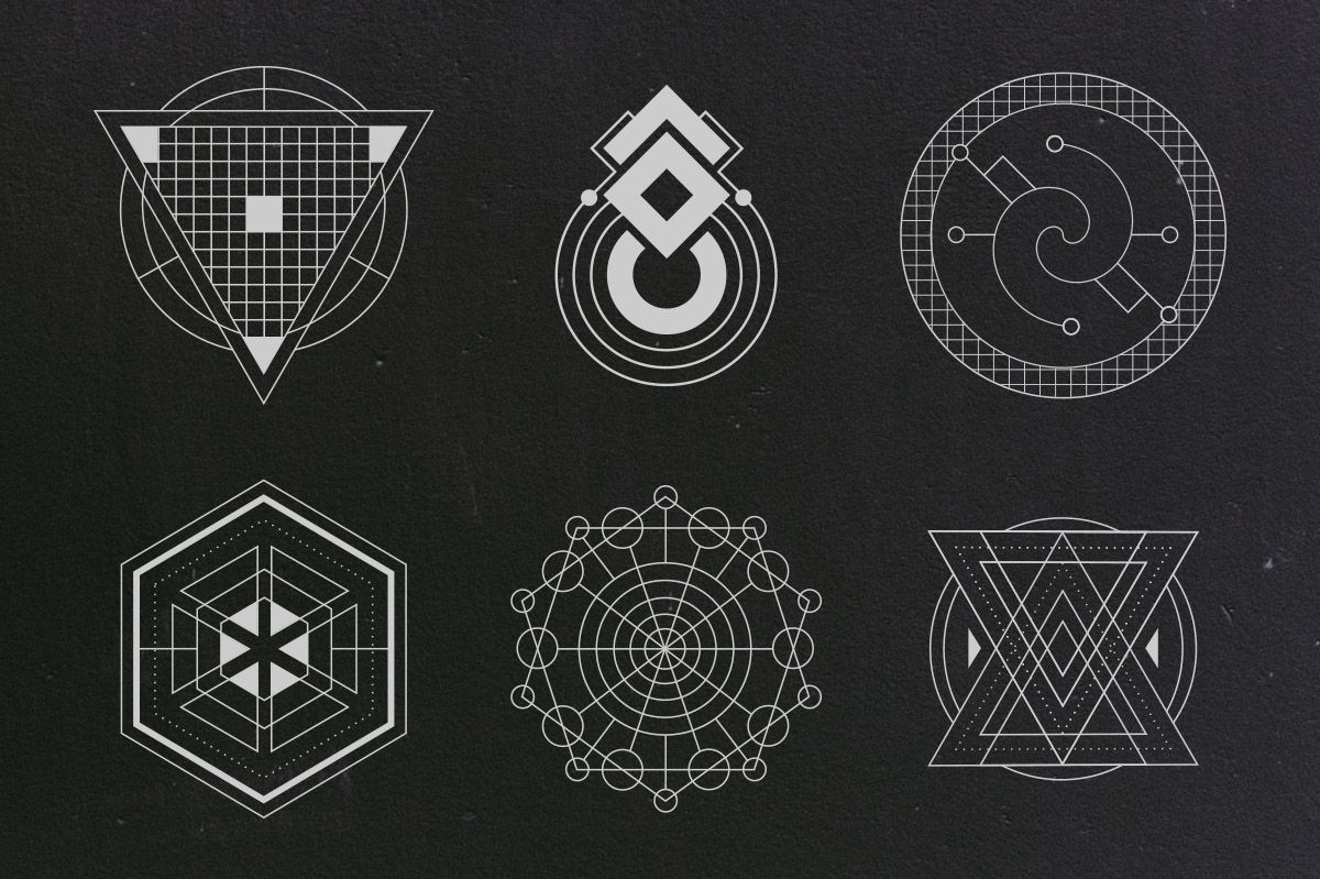 24 Sacred Geometry Vectors | Beautiful, Creative and The o'jays