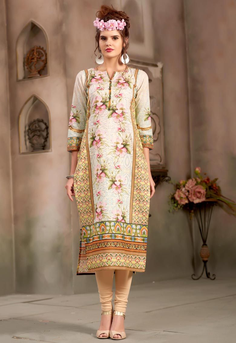 #Multi #Color #Premium #Egyption #Cotton #Kurti.  #Multi #Color #Premium #Egyption #Cotton #Printed #Work #Kurti.  INR: 1,296.00  With Exclusive Discount  Grab: http://tinyurl.com/h39csny