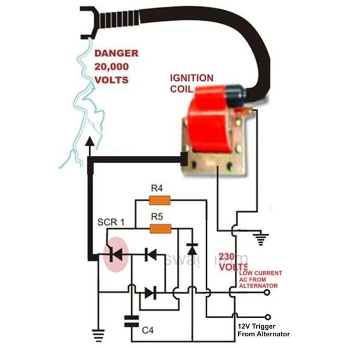 mallory magneto wiring diagram magneto circuit diagram