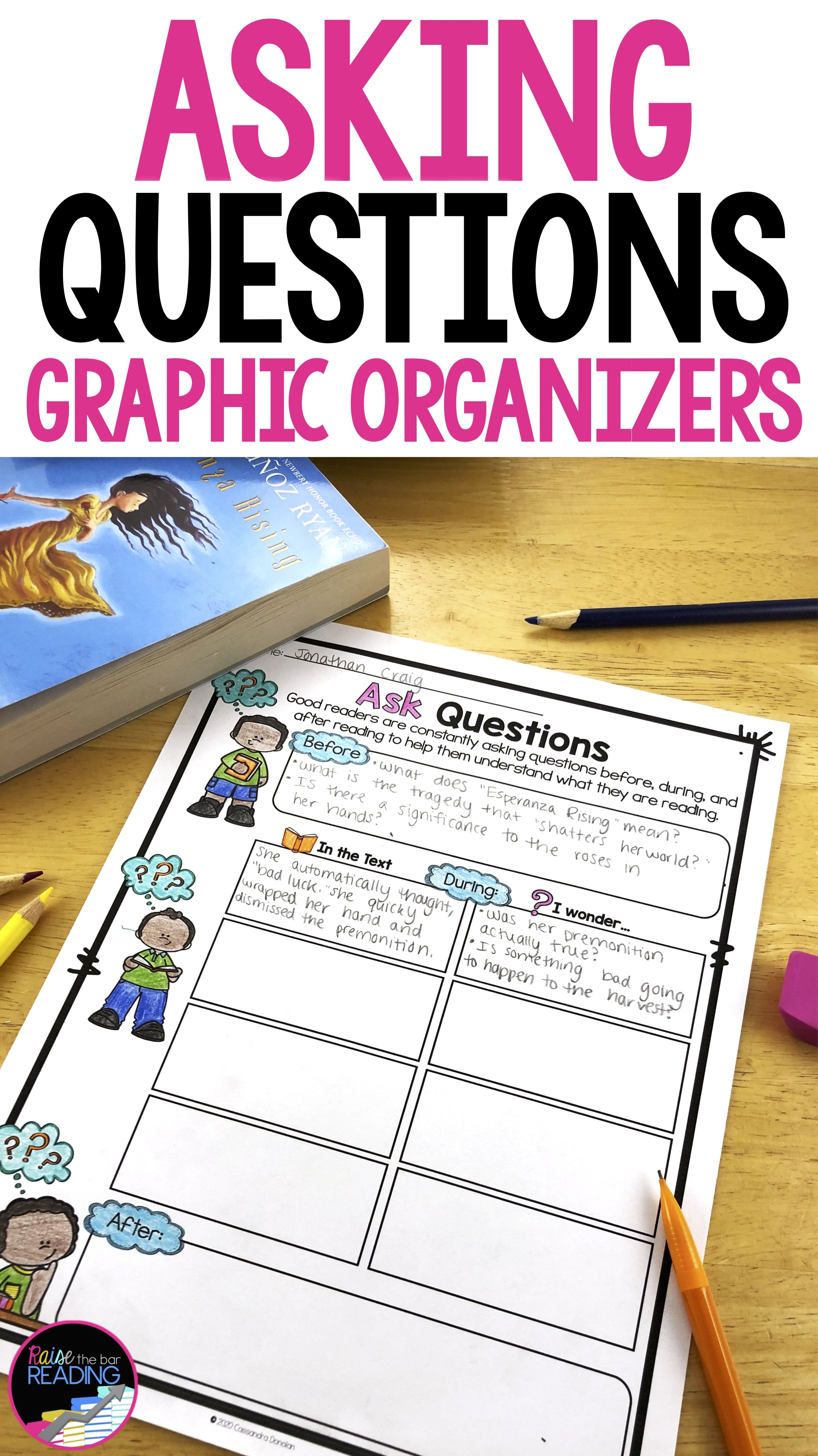 Asking Questions Graphic Organizers This Or That Questions Reading Comprehension Strategies Teaching Reading Strategies [ 4800 x 2700 Pixel ]