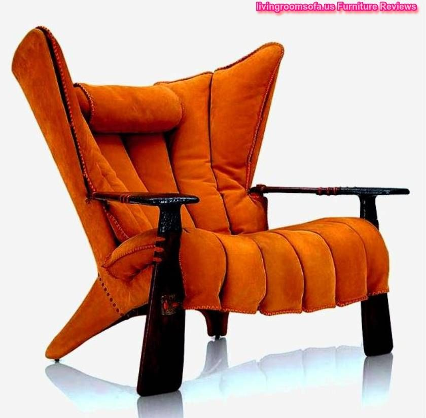 Best Orange Accent Chairs With Arms Small Living Room Chairs 640 x 480