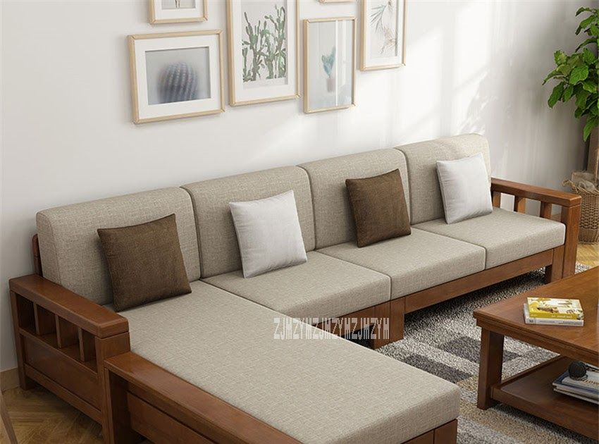 8809 Dual Purpose Home Solid Wood Sectional Recliner Couch Modern