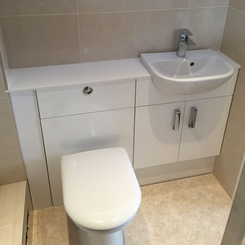Built In Toilet And Sink Unit Bathroom Co Carlisle With Images